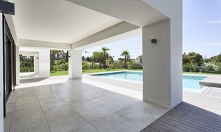 Brand-new, Beachside, Contemporary Style Villa for sale, Ready to Move in, Marbella West 1494