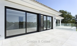 Brand-new, Beachside, Contemporary Style Villa for sale, Ready to Move in, Marbella West 1508