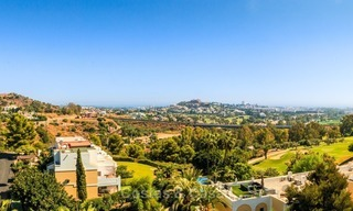 Contemporary style Apartment with Panoramic Sea-, Golf- and Mountain views for sale in La Quinta, Benahavis - Marbella 1526