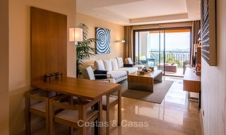Contemporary style Apartment with Panoramic Sea-, Golf- and Mountain views for sale in La Quinta, Benahavis - Marbella 1529