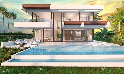 Contemporary, Modern Style New Villa for Sale, Beachside San Pedro, Marbella 1618