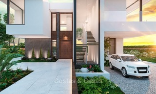 Contemporary, Modern Style New Villa for Sale, Beachside San Pedro, Marbella 1619