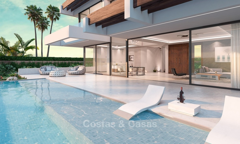 Contemporary, Modern Style New Villa for Sale, Beachside San Pedro, Marbella 1620