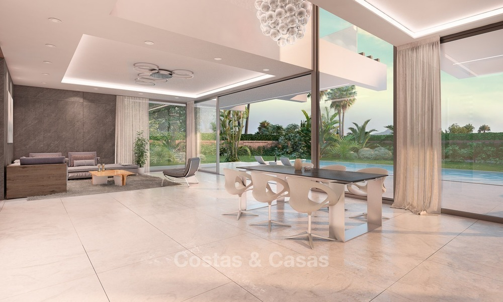 Contemporary, Modern Style New Villa for Sale, Beachside San Pedro, Marbella 1622