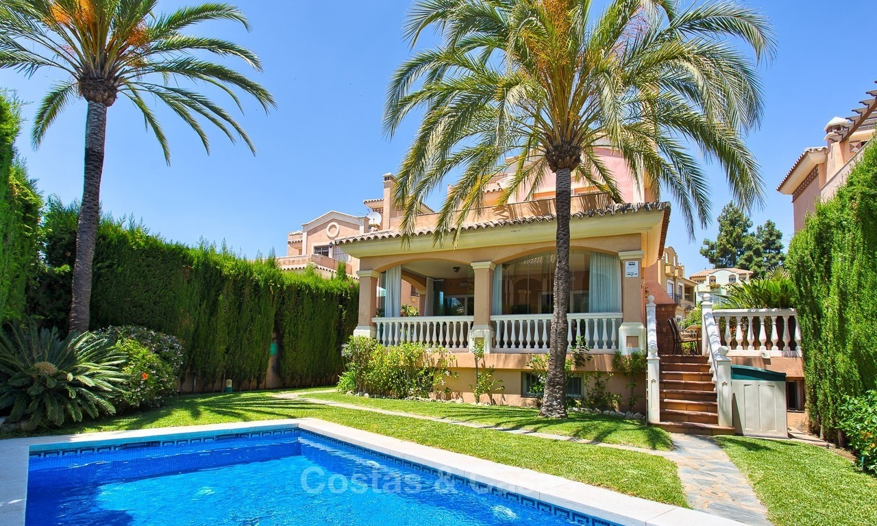 Spacious Villa for sale, walking distance to the Centre of Marbella and the Beach 1658