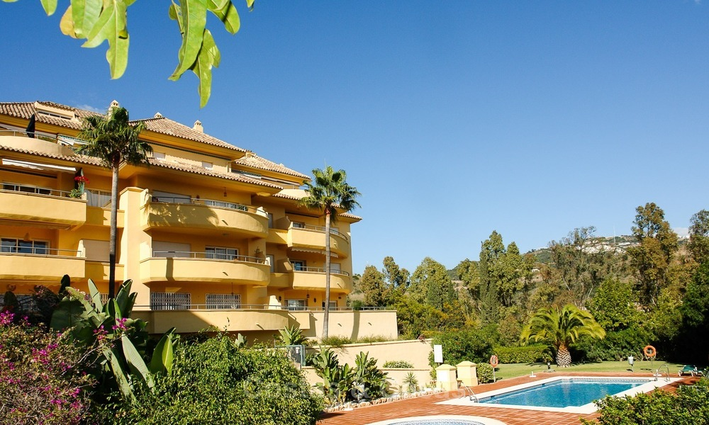 Luxury Golf Apartment for sale with sea views in Rio Real in Marbella 1783