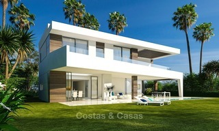 Gated Development of 25 Modern Villas for sale near a Golf Resort on the New Golden Mile, Marbella - Estepona 1791