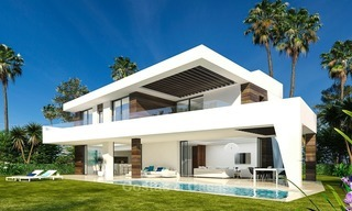 Gated Development of 25 Modern Villas for sale near a Golf Resort on the New Golden Mile, Marbella - Estepona 1792