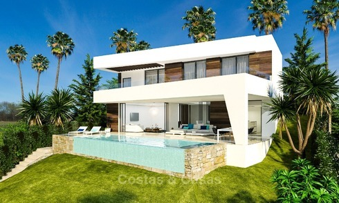Gated Development of 25 Modern Villas for sale near a Golf Resort on the New Golden Mile, Marbella - Estepona 1794