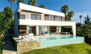 Gated Development of 25 Modern Villas for sale near a Golf Resort on the New Golden Mile, Marbella - Estepona 1793
