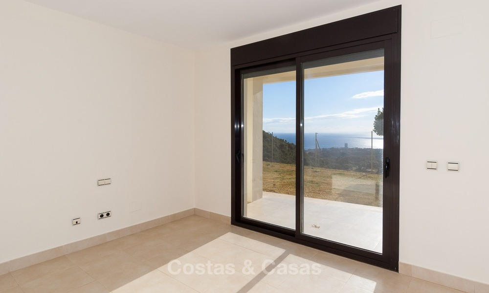 Bargain Modern, Luxury Apartment for Sale in Marbella with garden and Beautiful Sea and Coastal Views 1841