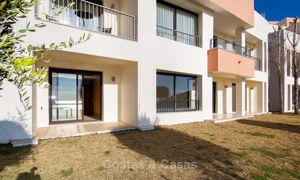 Bargain Modern, Luxury Apartment for Sale in Marbella with garden and Beautiful Sea and Coastal Views 1838