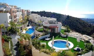 Bargain Modern, Luxury Apartment for Sale in Marbella with garden and Beautiful Sea and Coastal Views 1855