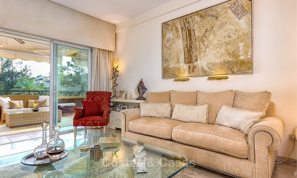 Front line Golf Luxury Apartment for sale in a Gated Community in Rio Real, Marbella 1858