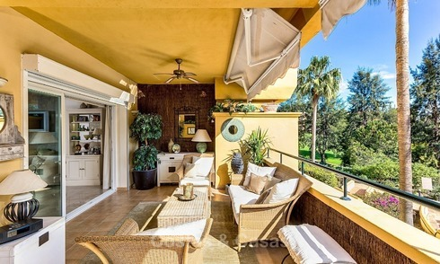 Front line Golf Luxury Apartment for sale in a Gated Community in Rio Real, Marbella 1865