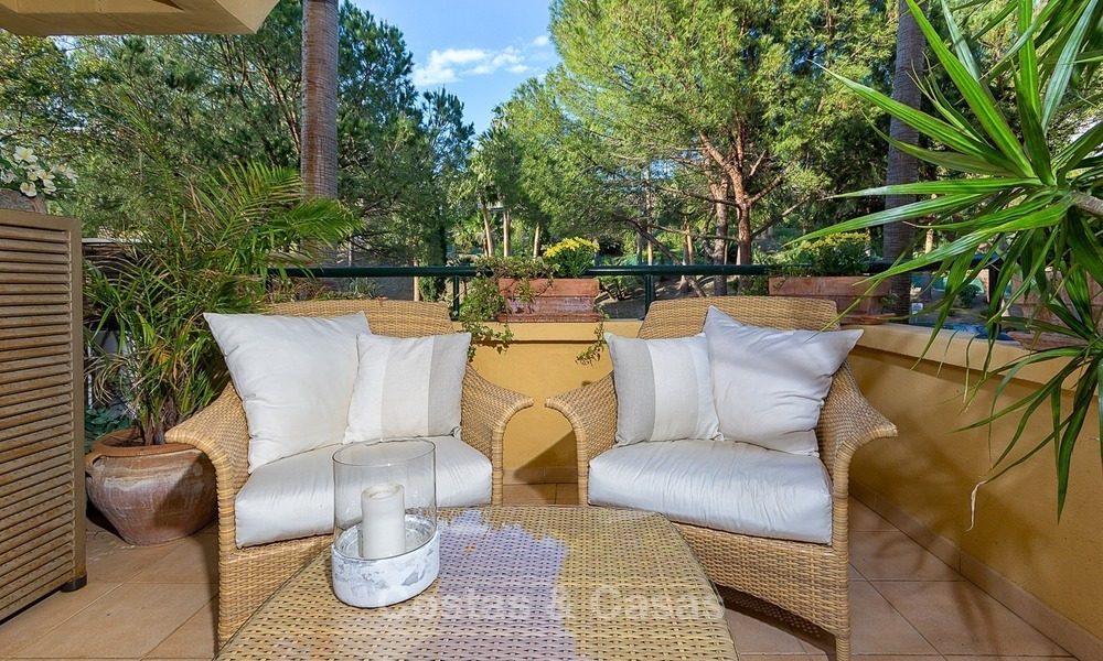 Front line Golf Luxury Apartment for sale in a Gated Community in Rio Real, Marbella 1869