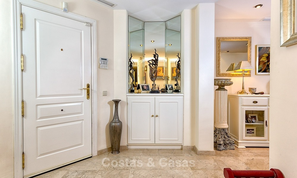 Front line Golf Luxury Apartment for sale in a Gated Community in Rio Real, Marbella 1880