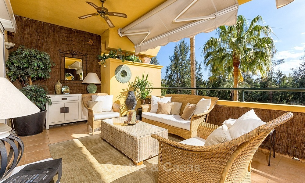 Front line Golf Luxury Apartment for sale in a Gated Community in Rio Real, Marbella 1883