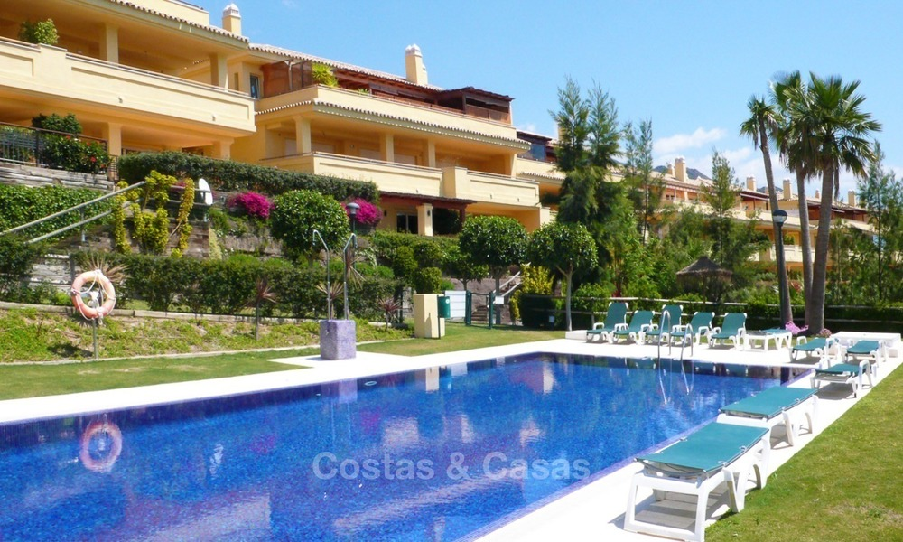 Luxury apartment for sale in Sierra Blanca, on The Golden Mile, Marbella 1954