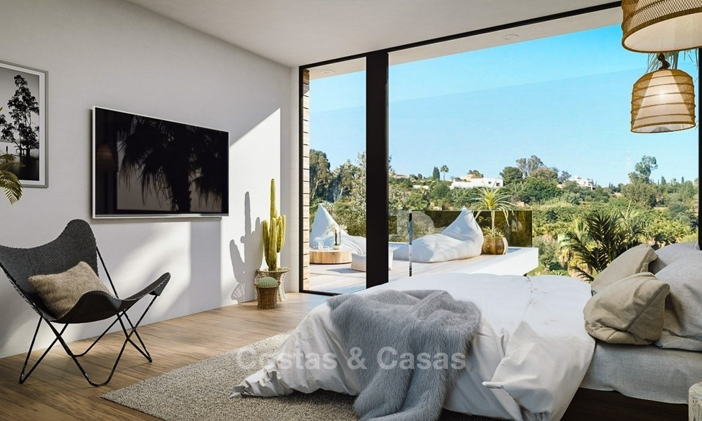 Modern Contemporary Villas for sale in New Development, Frontline Golf in Estepona - Marbella 2053