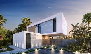 Modern Contemporary Villas for sale in New Development, Frontline Golf in Estepona - Marbella 2054