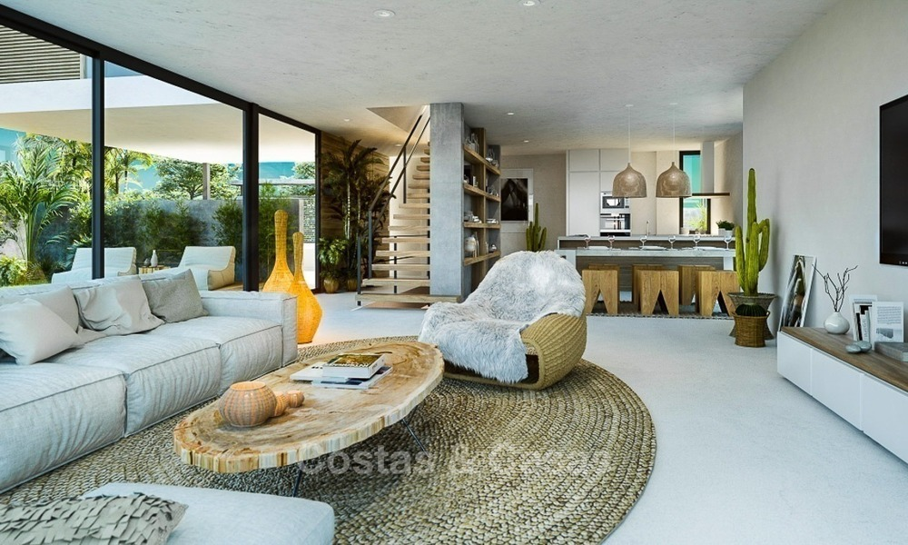 Modern Contemporary Villas for sale in New Development, Frontline Golf in Estepona - Marbella 2059