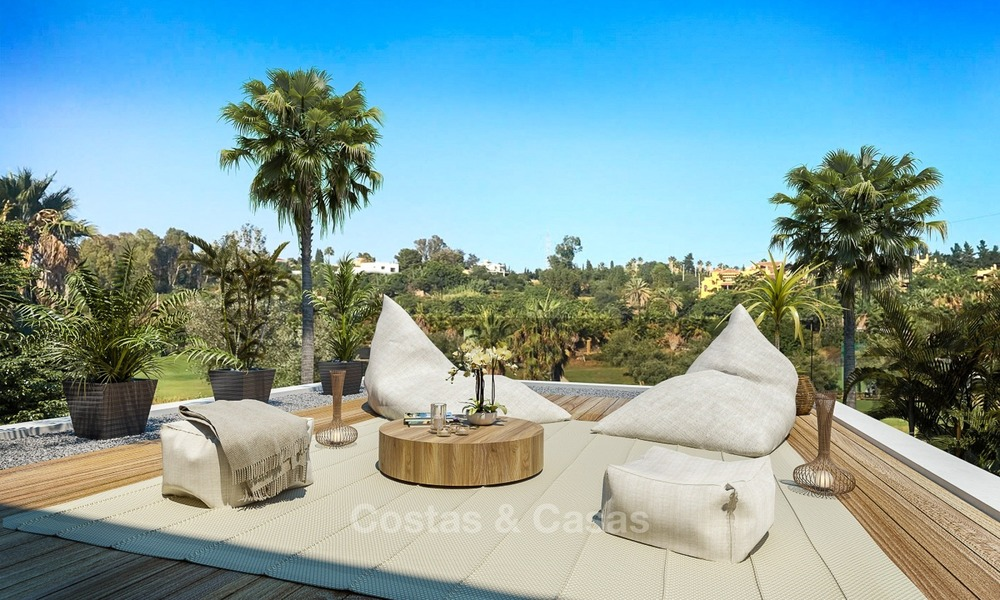 Modern Contemporary Villas for sale in New Development, Frontline Golf in Estepona - Marbella 2060