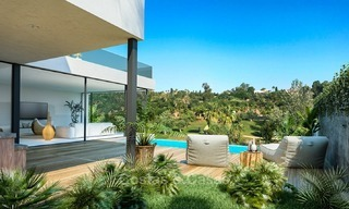 Modern Contemporary Villas for sale in New Development, Frontline Golf in Estepona - Marbella 2061