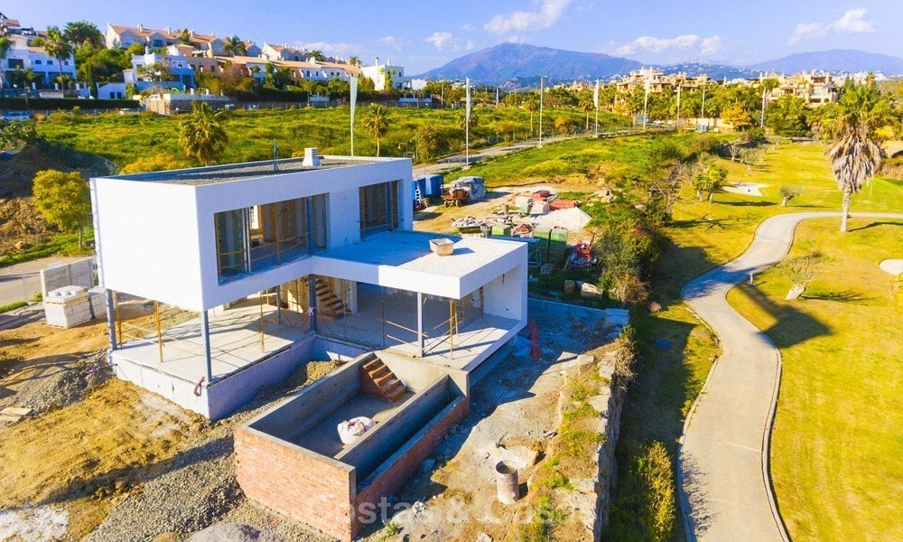 Modern Contemporary Villas for sale in New Development, Frontline Golf in Estepona - Marbella 2066