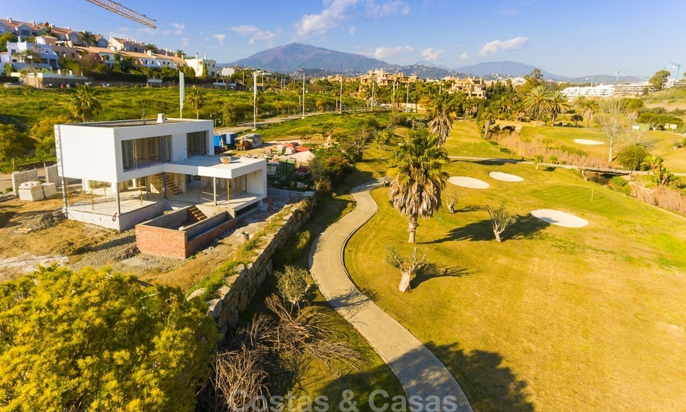Modern Contemporary Villas for sale in New Development, Frontline Golf in Estepona - Marbella 2069
