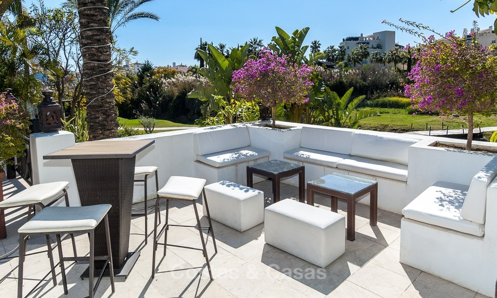 Modern Contemporary Villas for sale in New Development, Frontline Golf in Estepona - Marbella 2704