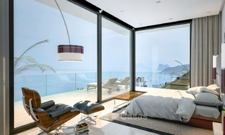 Second line beach, modern, contemporary designer villa for sale in Estepona, Costa del Sol 2073