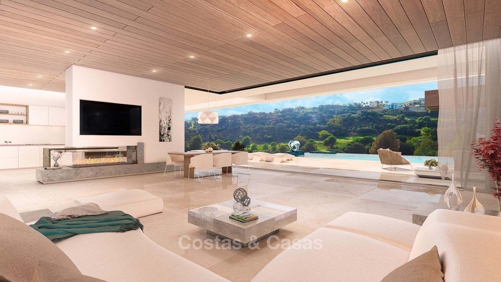 Bespoke Modern Contemporary Villas for sale Marbella Costa del Sol