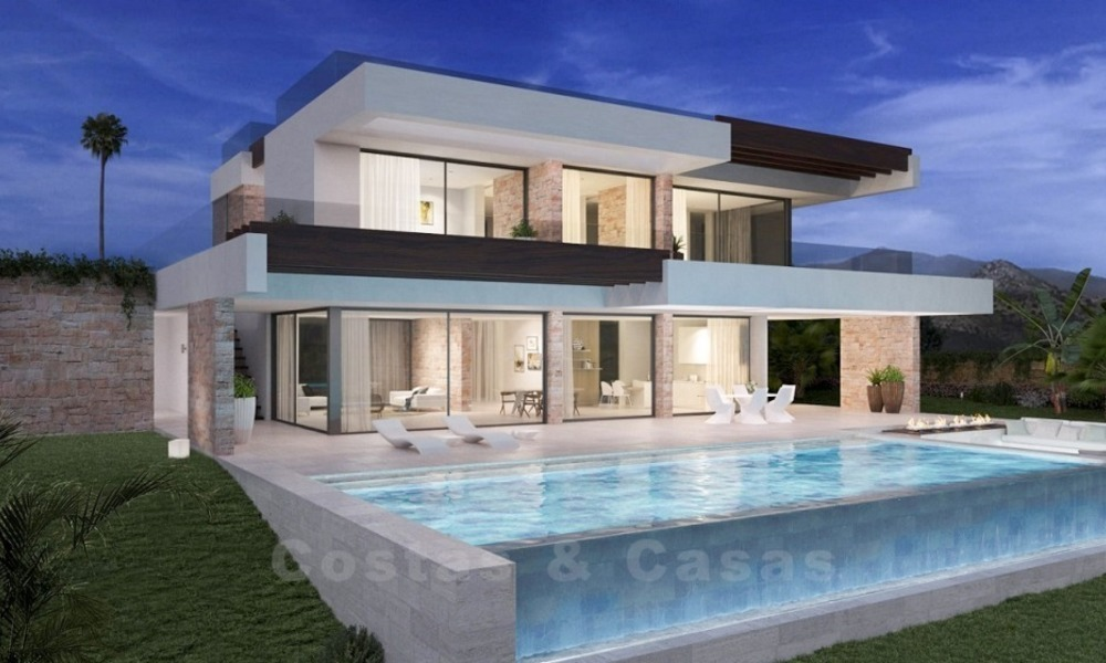 Bespoke Modern Contemporary Designer Villas for sale in Marbella, Benahavis, Estepona, Mijas and on the whole Costa del Sol 2398