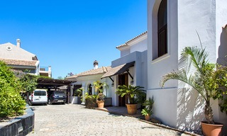 Elegant, Andalusian Style Villa in Gated Community with Sea- and Mountain views for sale in Benahavis, Marbella 5199