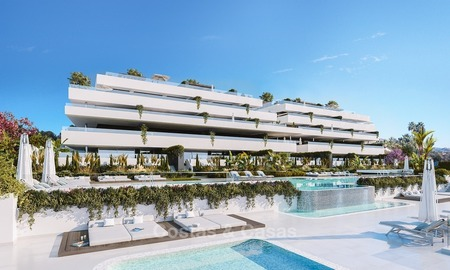 Luxury Development with Exclusive, Contemporary Boutique Style Apartments with private pool for sale in Marbella - Estepona 2302