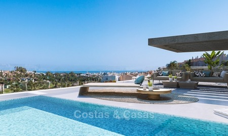 Luxury Development with Exclusive, Contemporary Boutique Style Apartments with private pool for sale in Marbella - Estepona 2299