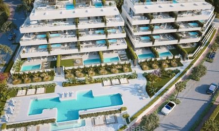 Luxury Development with Exclusive, Contemporary Boutique Style Apartments with private pool for sale in Marbella - Estepona 2301