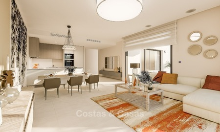 Contemporary, Modern Apartments for sale, located near the Beach and Golf, Estepona - Marbella 2402