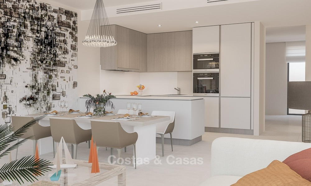 Contemporary, Modern Apartments for sale, located near the Beach and Golf, Estepona - Marbella 2407