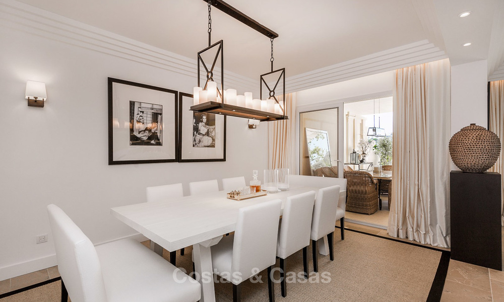 Frontline golf, modern renovated luxury apartment for sale in Nueva Andalucia - Marbella 2912