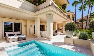 Frontline golf, modern renovated luxury apartment for sale in Nueva Andalucia - Marbella 2918