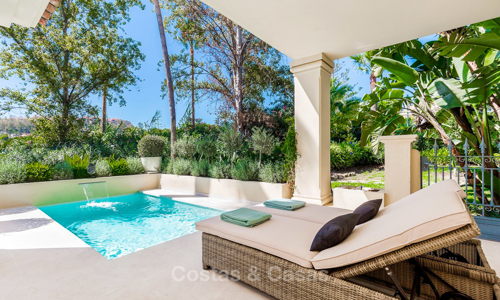 Frontline golf, modern renovated luxury apartment for sale in Nueva Andalucia - Marbella 2919
