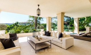 Frontline golf, modern renovated luxury apartment for sale in Nueva Andalucia - Marbella 2923