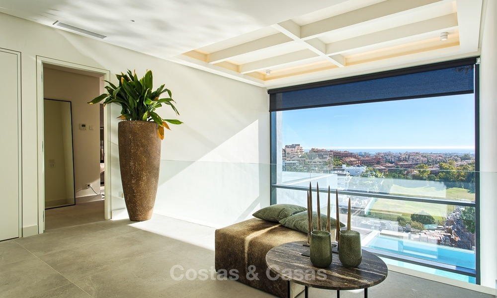 Ready to move in Modern Contemporary Villa near Golf with Sea Views for sale in Benahavis, Marbella 2518