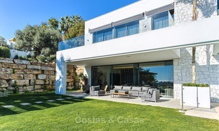 Ready to move in Modern Contemporary Villa near Golf with Sea Views for sale in Benahavis, Marbella 2536