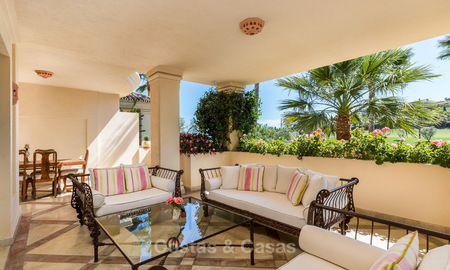Frontline golf, luxurious Apartment for sale in Nueva Andalucia - Marbella 4080