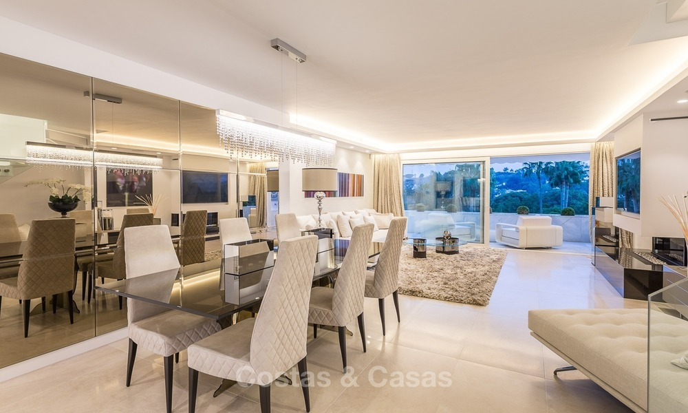 Frontline golf, modern, spacious, luxury penthouse for sale in Nueva Andalucia - Marbella 2565