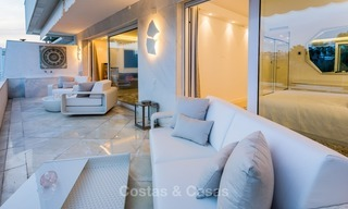 Frontline golf, modern, spacious, luxury penthouse for sale in Nueva Andalucia - Marbella 2567