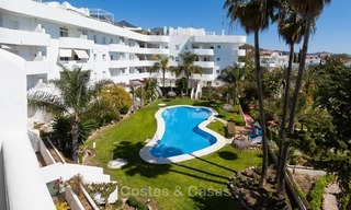 Apartment for sale with sea view on the Golden Mile at walking distance from the beach and Marbella center 2631